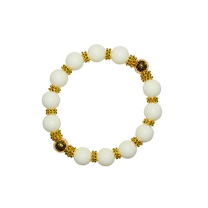 TATE HUDSON BANGLE IN IVORY