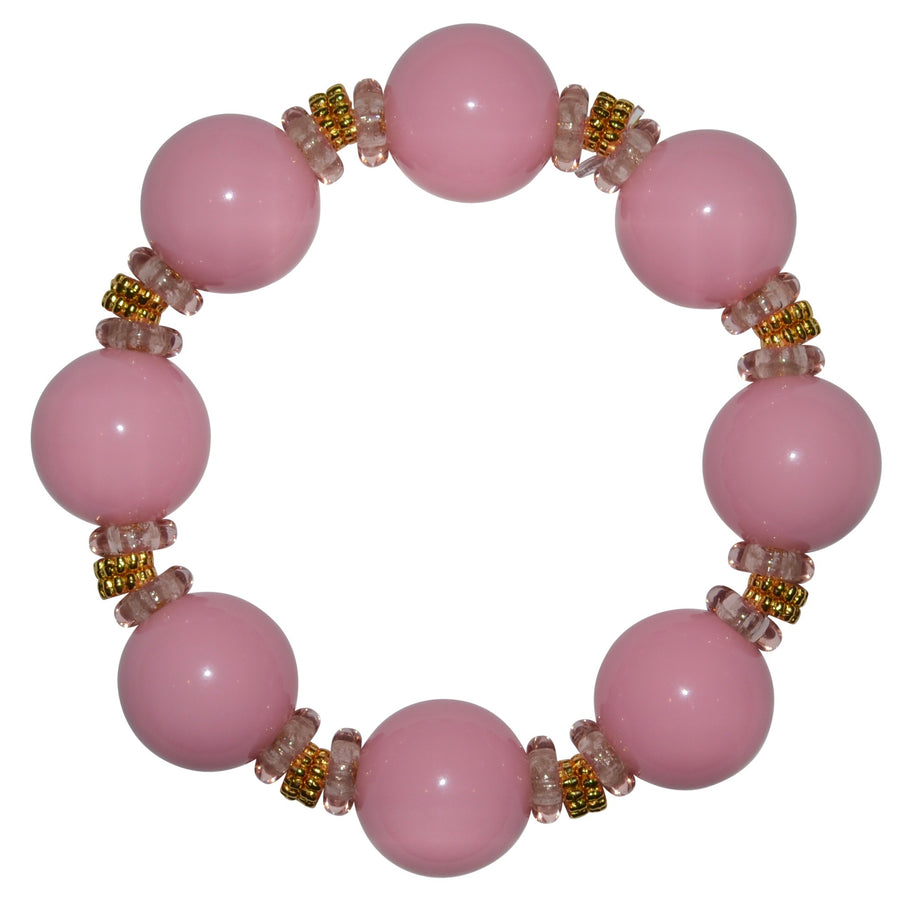 VIVIENNE STATEMENT ANYTIME BRACELET IN PINK