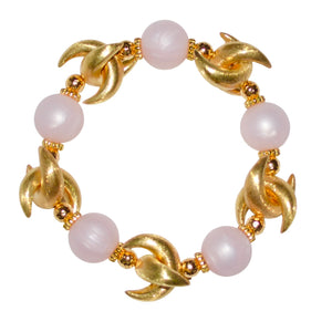 LUNA BANGLE IN LIGHT PINK