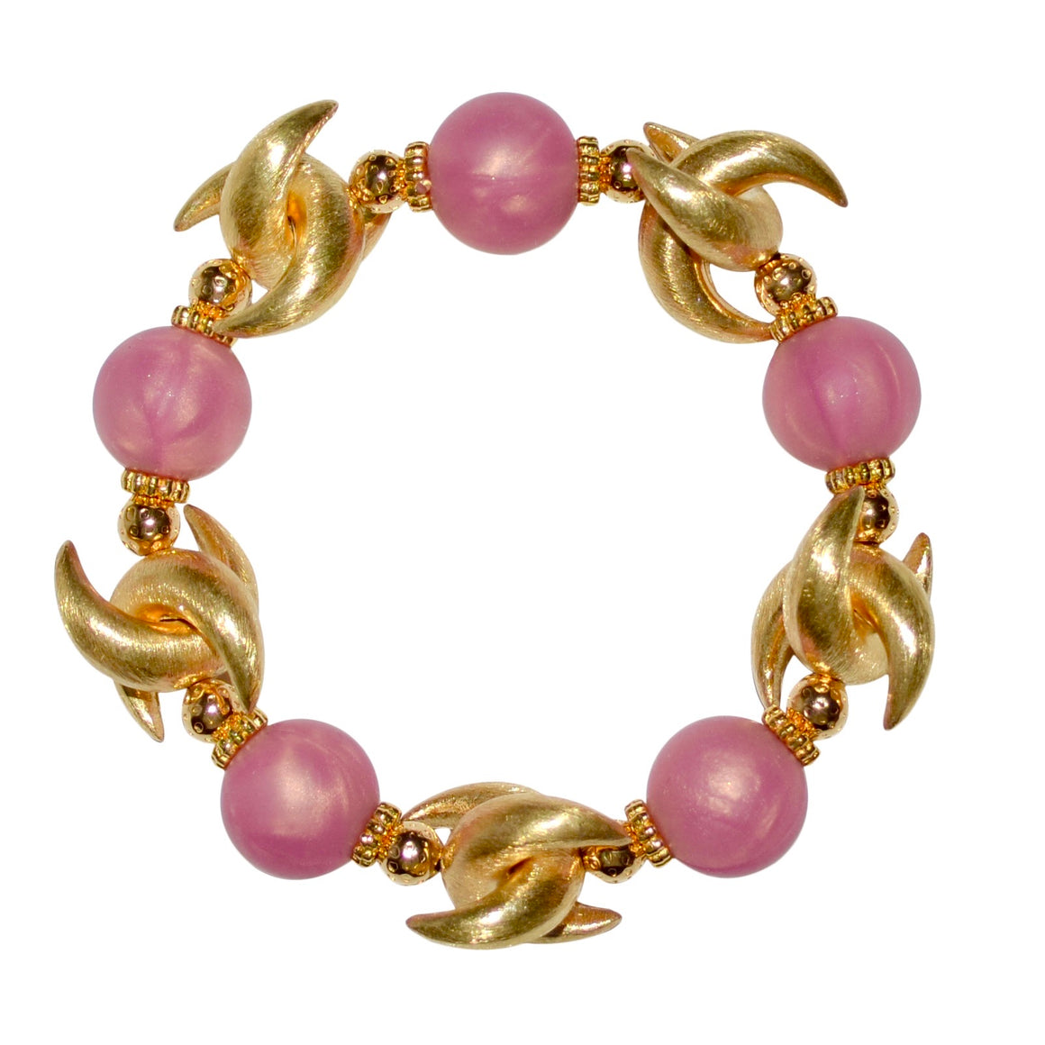 LUNA BANGLE IN ROSE