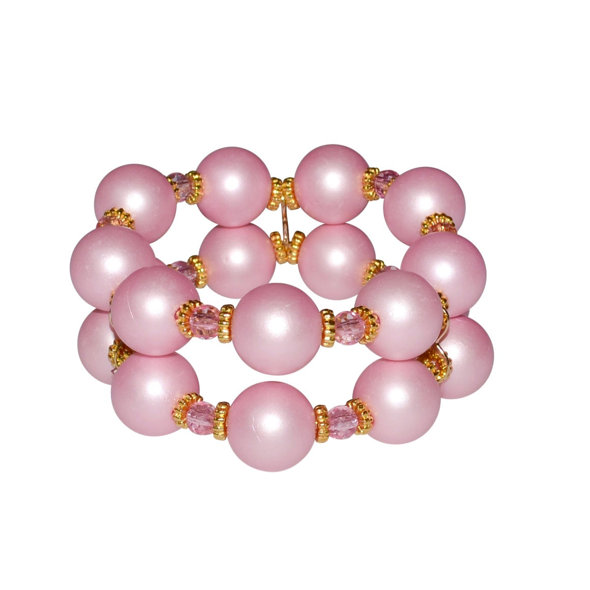 SAVANNAH CUFF IN MATTE PINK PEARL