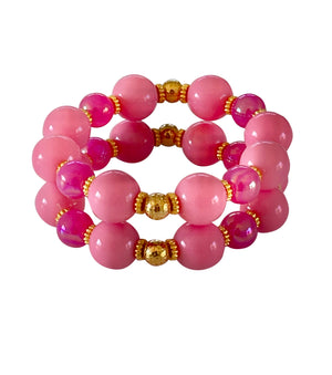 TEGGY CUFF IN PALM BEACH PINK