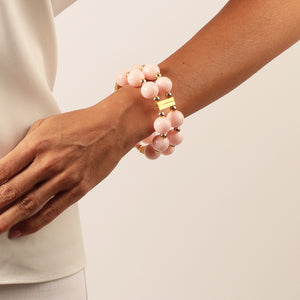 SAVANNAH CUFF IN LIGHT PINK