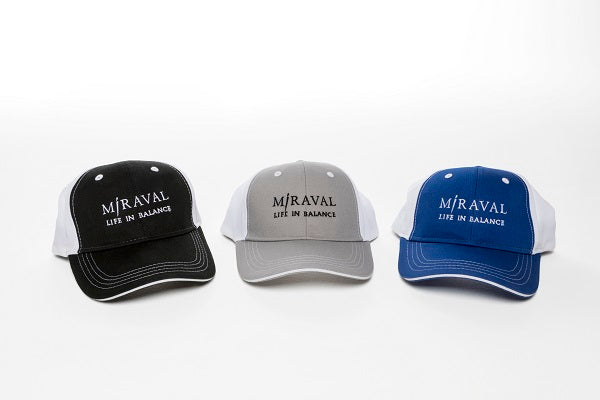 Miraval Mesh Back Ball Cap