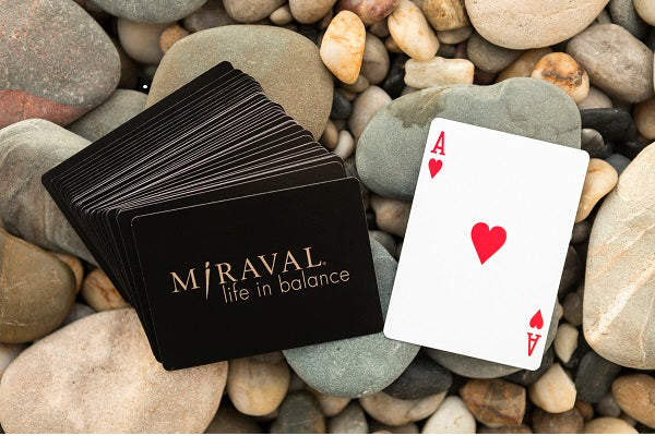 Miraval Playing Cards