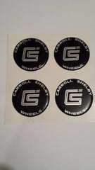 Carroll Shelby Center Cap Emblems