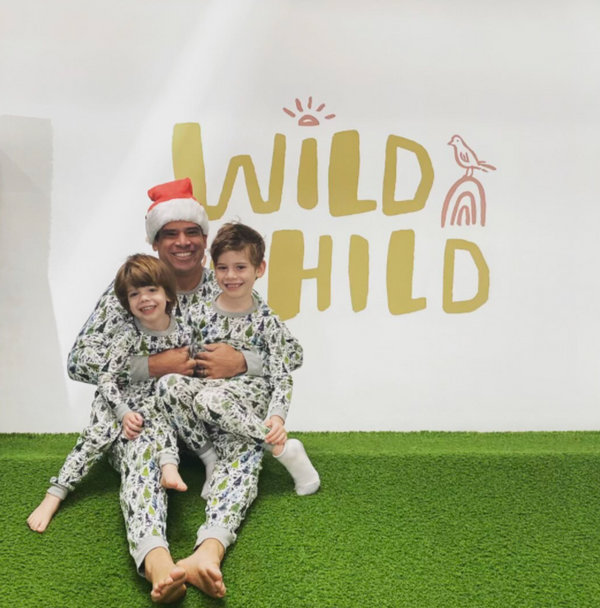 Family Jammie Holiday Party x Wild Child Gym