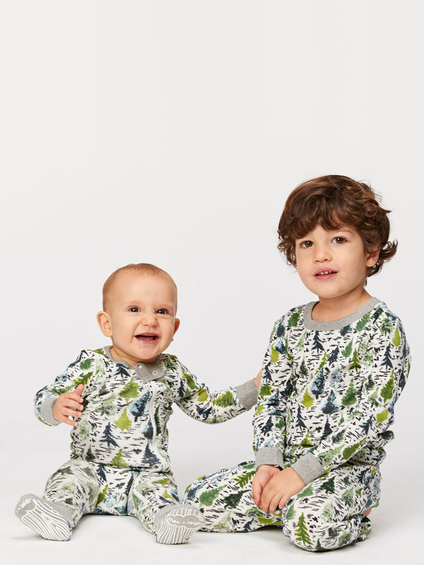 Infant Evergreens Pajama