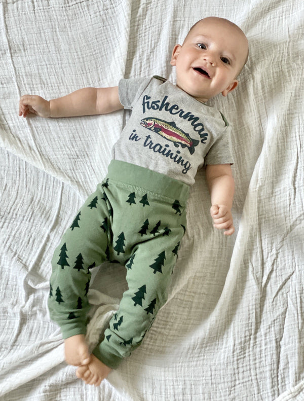 Infant Fisherman Graphic One-Piece