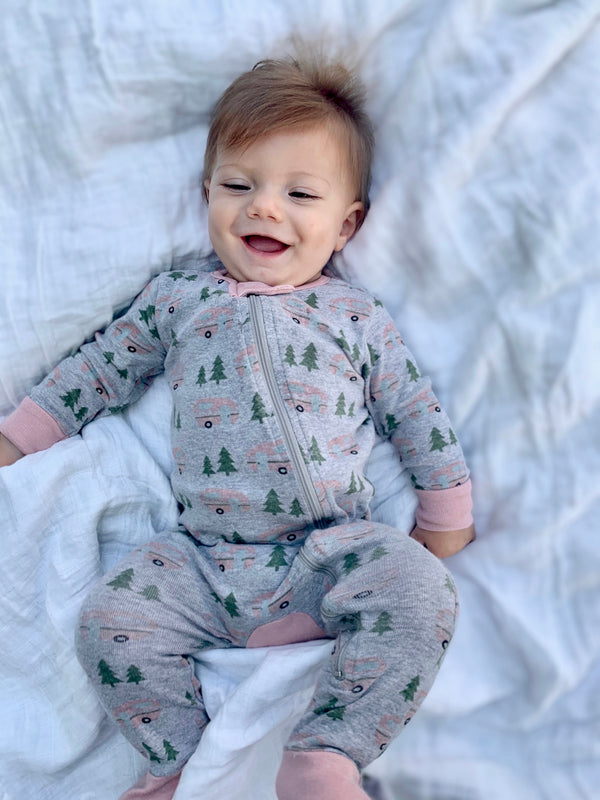 Infant Camper Footie Pajamas