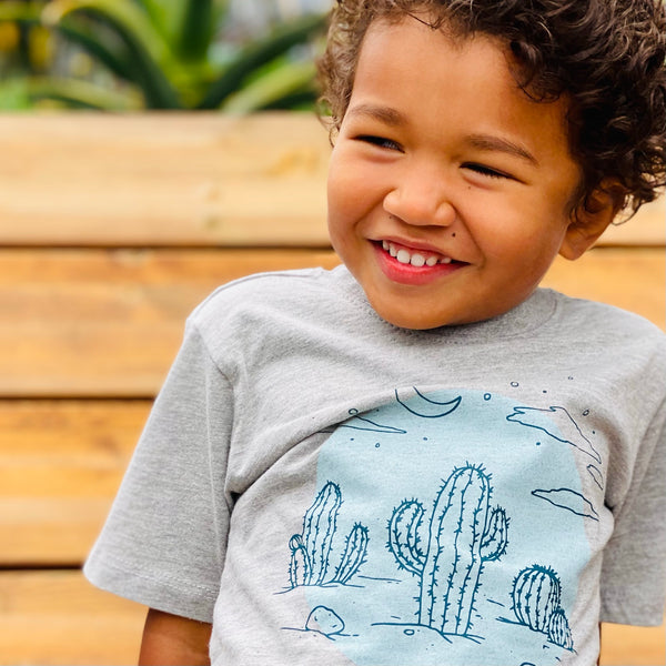Toddler Desert Night Graphic Tee