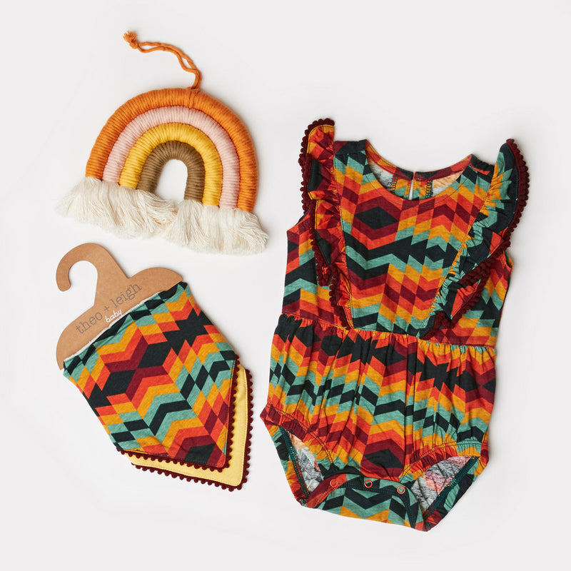 Infant Mojave Stripe Bib 2-Pack