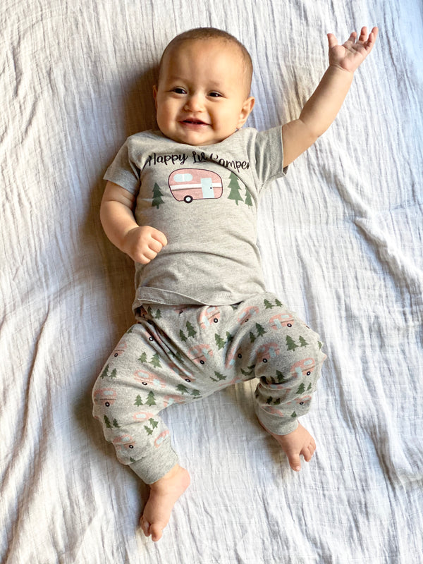Infant Happy Camper Graphic Tee