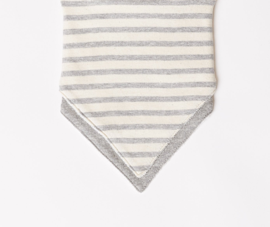 Infant Stripe Rib Bib 2-Pack