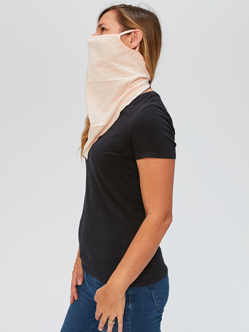 Adult Solid Bandana Mask