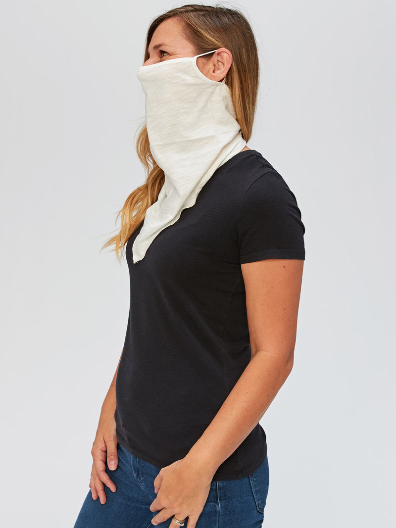 Adult Solid Bandana Style Face Covering