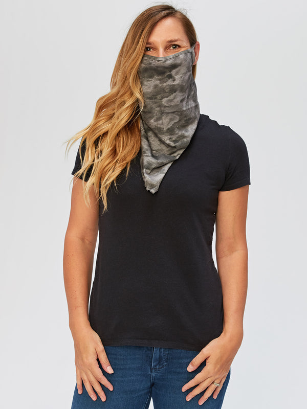 Adult Tie Dye Bandana Style Face Covering