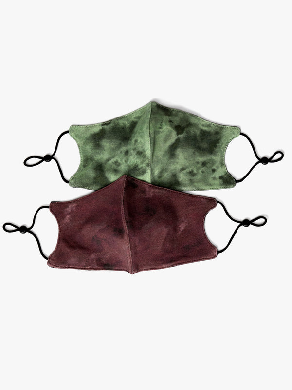 Adult Tie Dye Face Covering 2 Pack