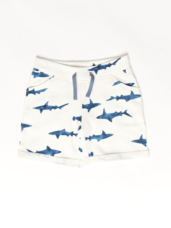 Shark Roll Cuff Short