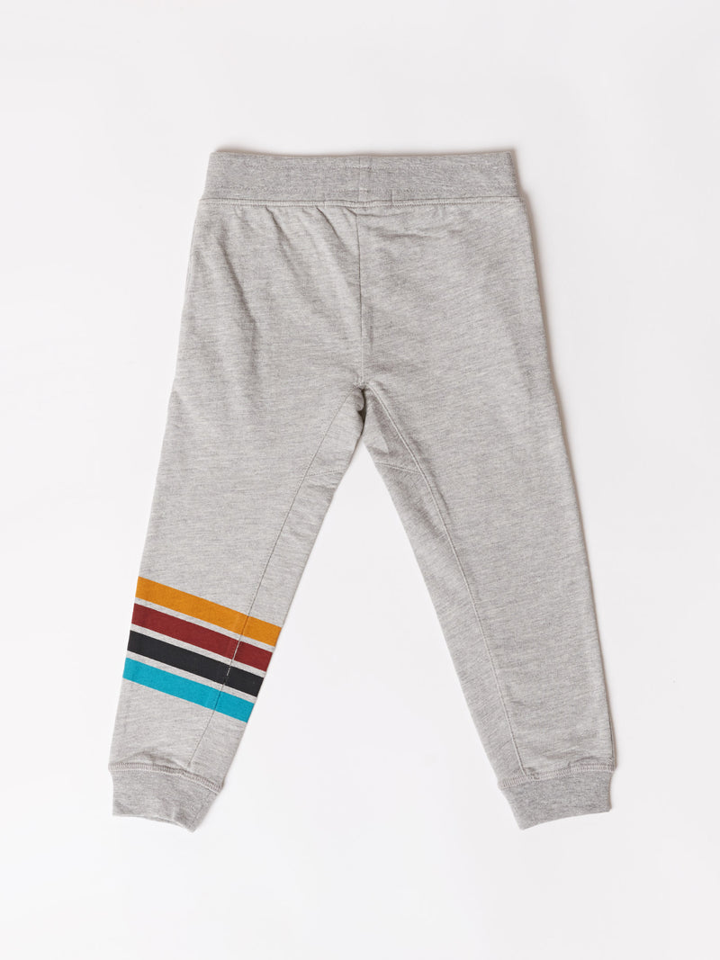 Toddler Stripe Graphic Jogger
