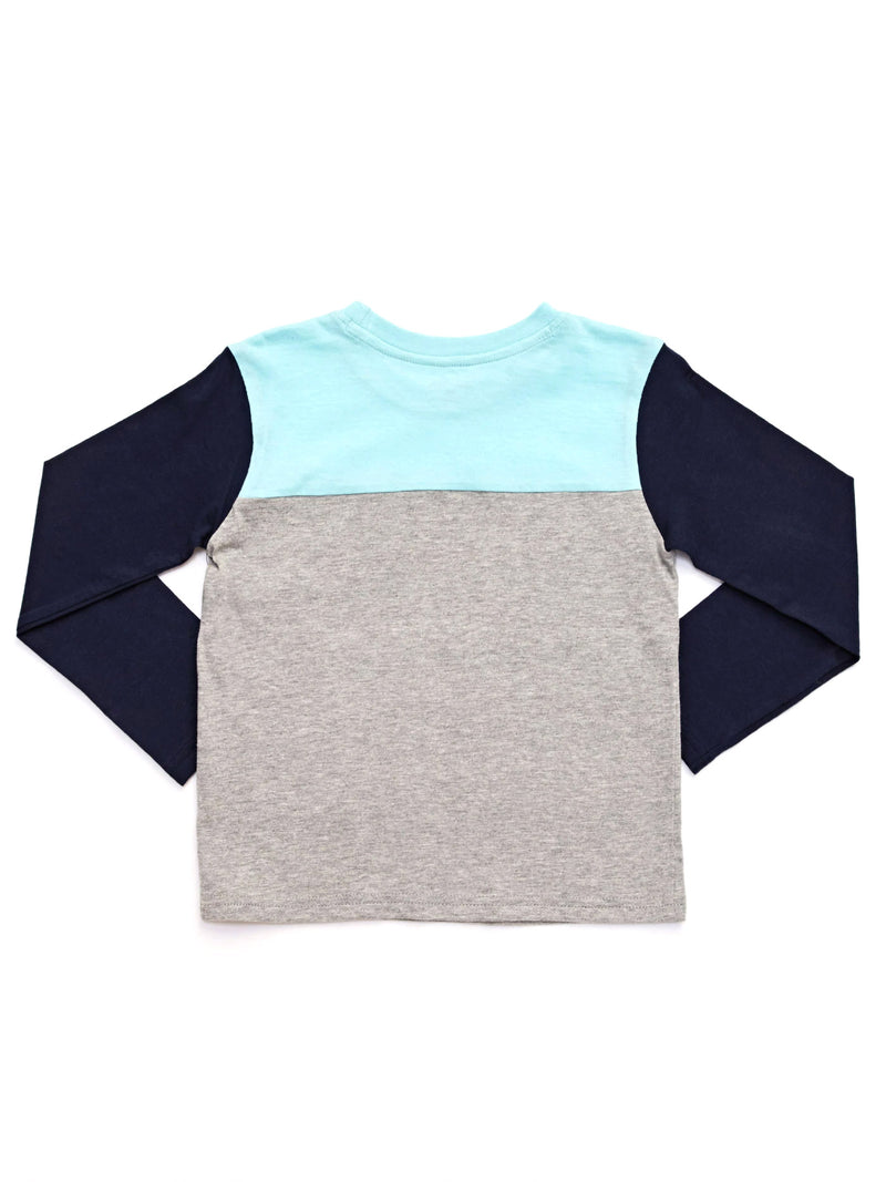 Long Sleeve Colorblock Tee