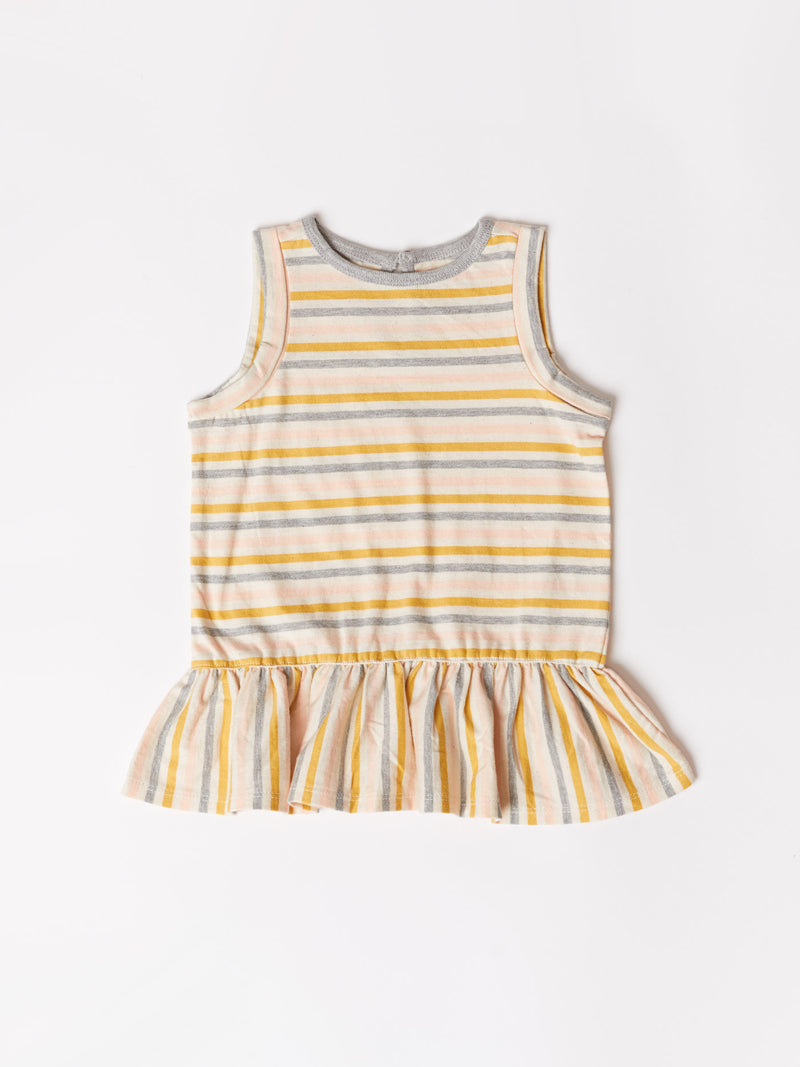 Toddler Stripe Peplum Top
