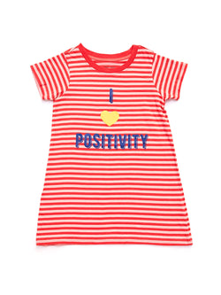 Positivity Swing Dress