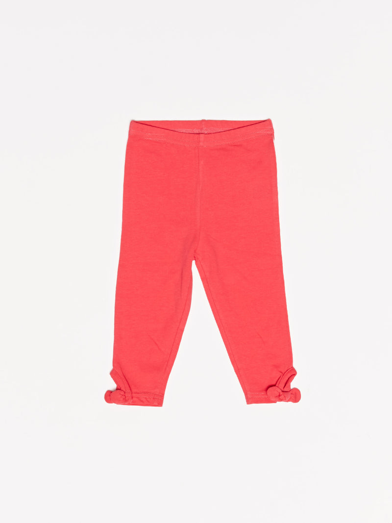 Infant Girl's Bow Legging