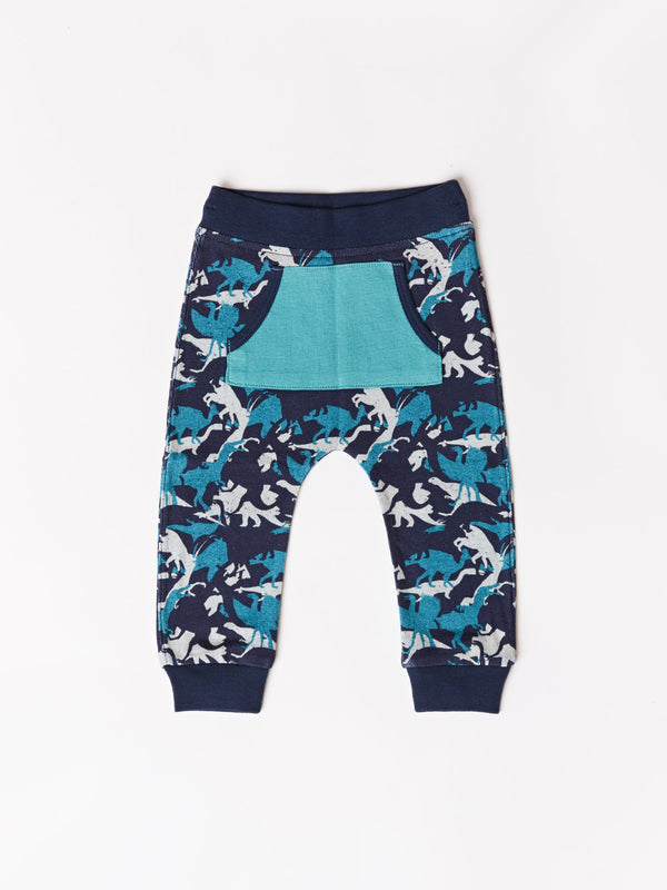 Infant Dino Print Pocket Jogger