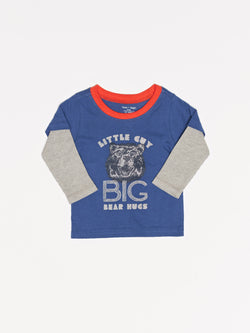 Infant Little Guy Graphic Longsleeve Tee