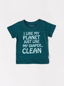 Infant Clean Planet Tee
