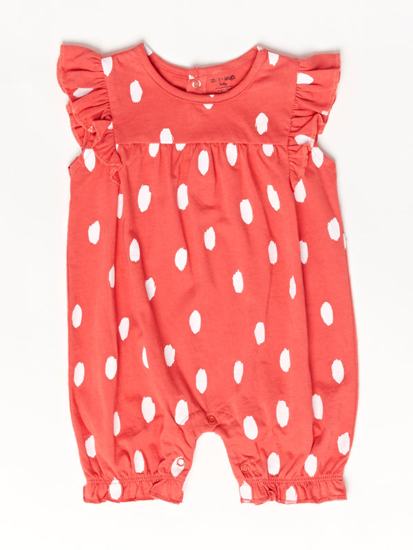 Infant Strawberry Patch Romper