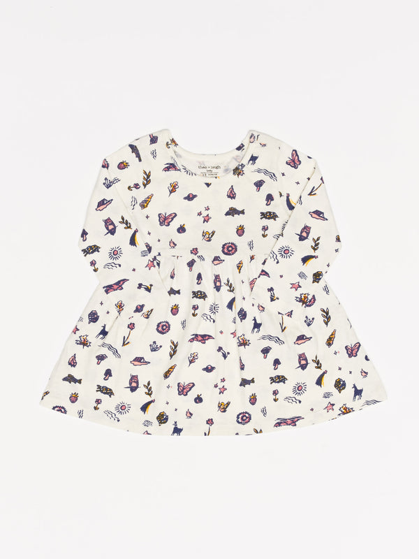 Infant Fall Floral Dress