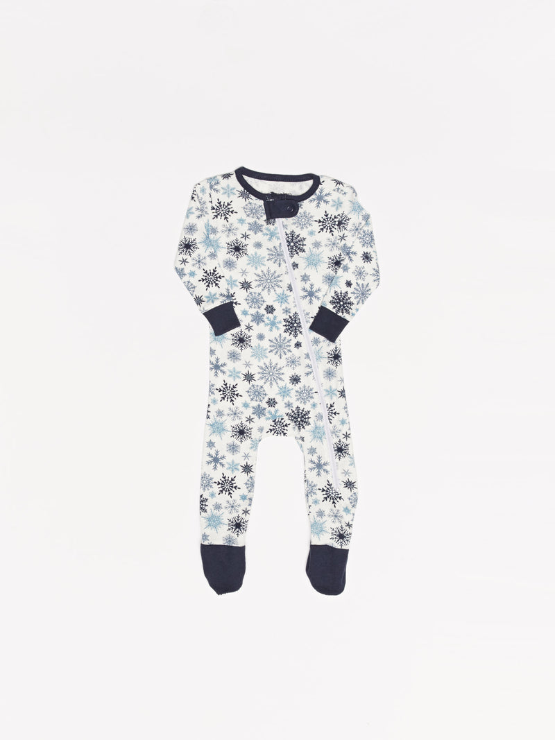 Infant Holiday Snowflake Pajamas