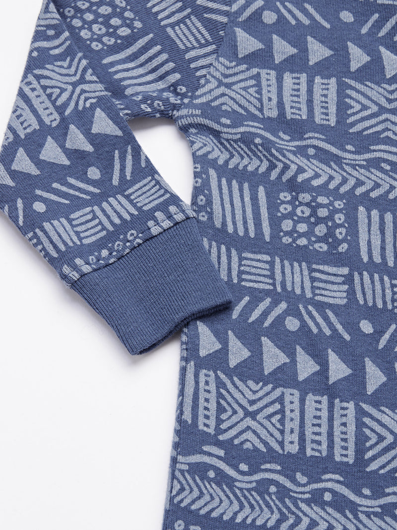 Infant Tribal Print One-Piece