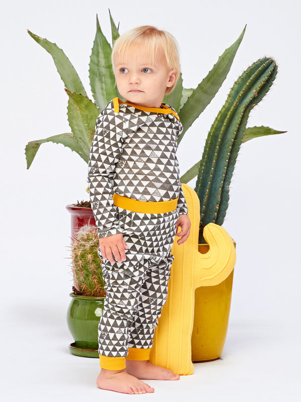 Infant Geometric Print One-Piece