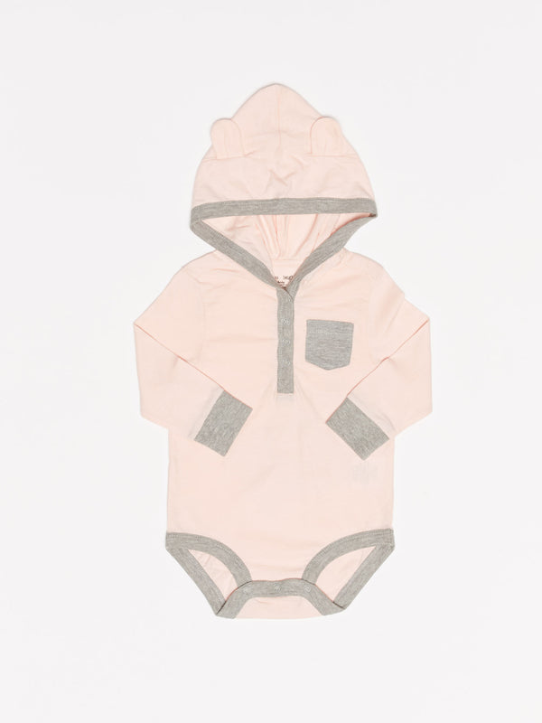 Infant Bear Color Blocked One-Piece