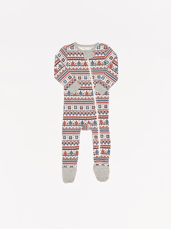 Infant Fair Isle Pajama