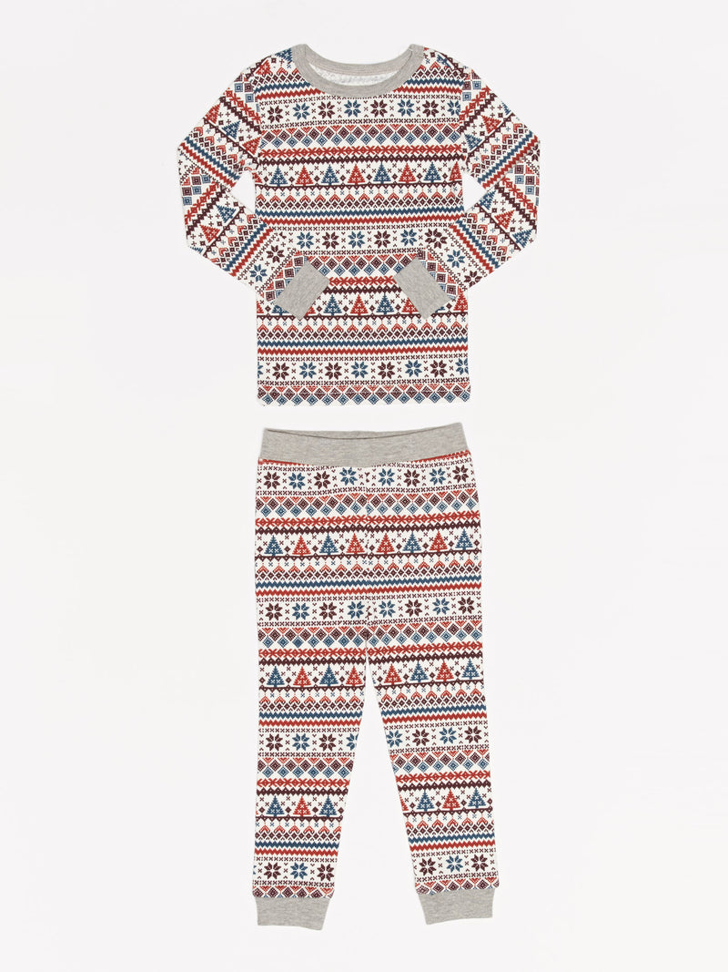 Kids Fair Isle PJ Set