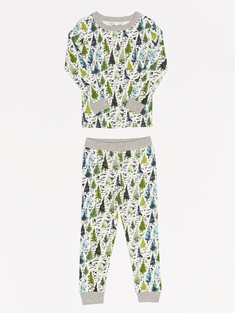 Kids Evergreens PJ Set