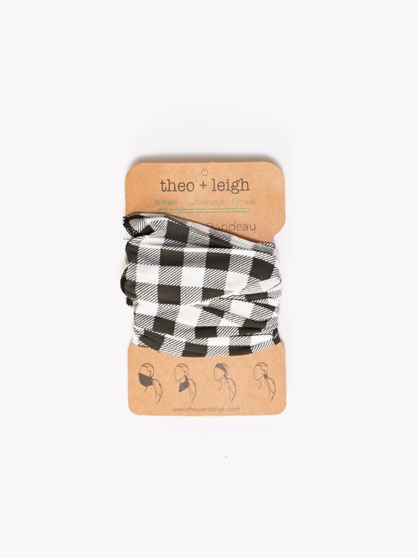 Adult Buffalo Check Bandeau