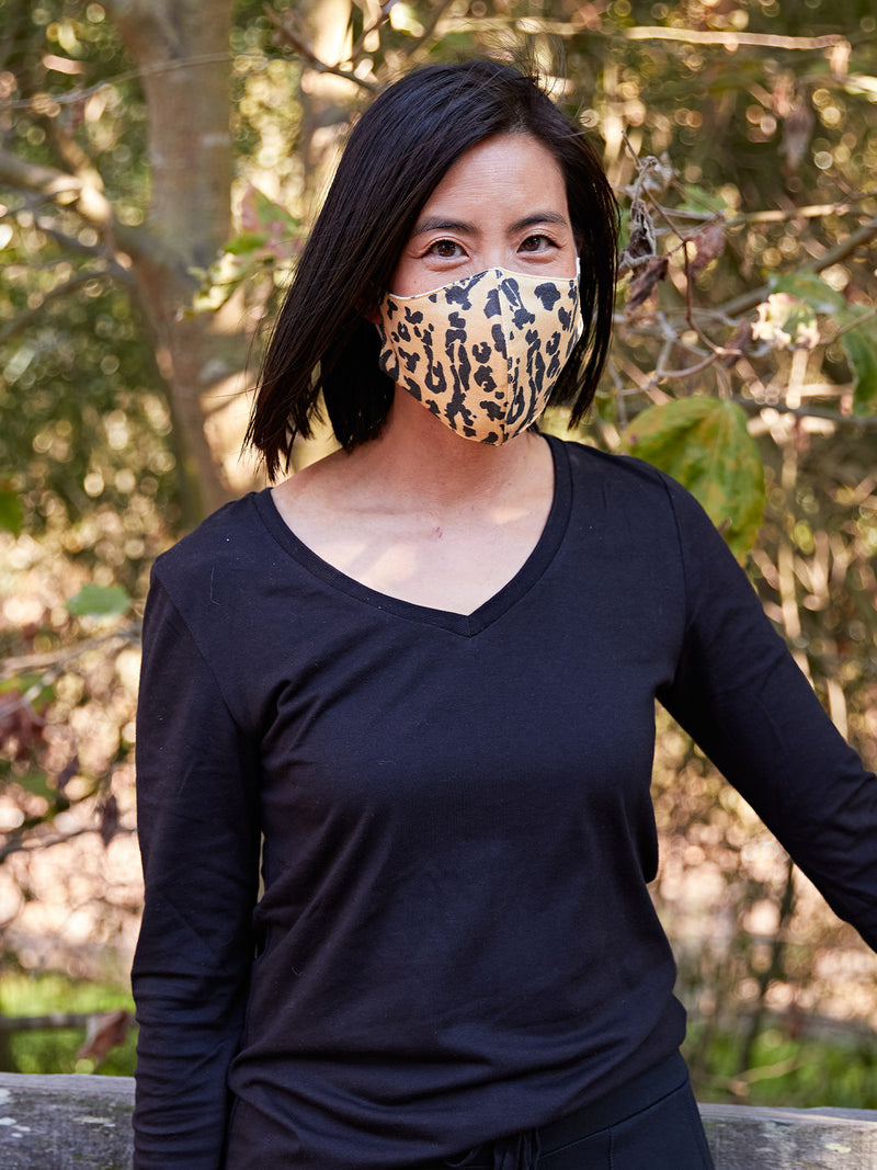 Adult Animal Print Face Covering 2 Pack