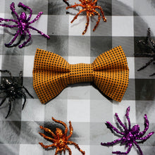 Load image into Gallery viewer, Caught in your Web // Troy Reversible Bow Tie