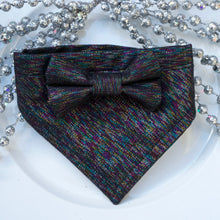 Load image into Gallery viewer, Kaleidoscope // Troy Bow Tie & Belle Bandana Duo