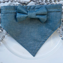 Load image into Gallery viewer, Moon Dust // Troy Bow Tie & Belle Bandana Duo
