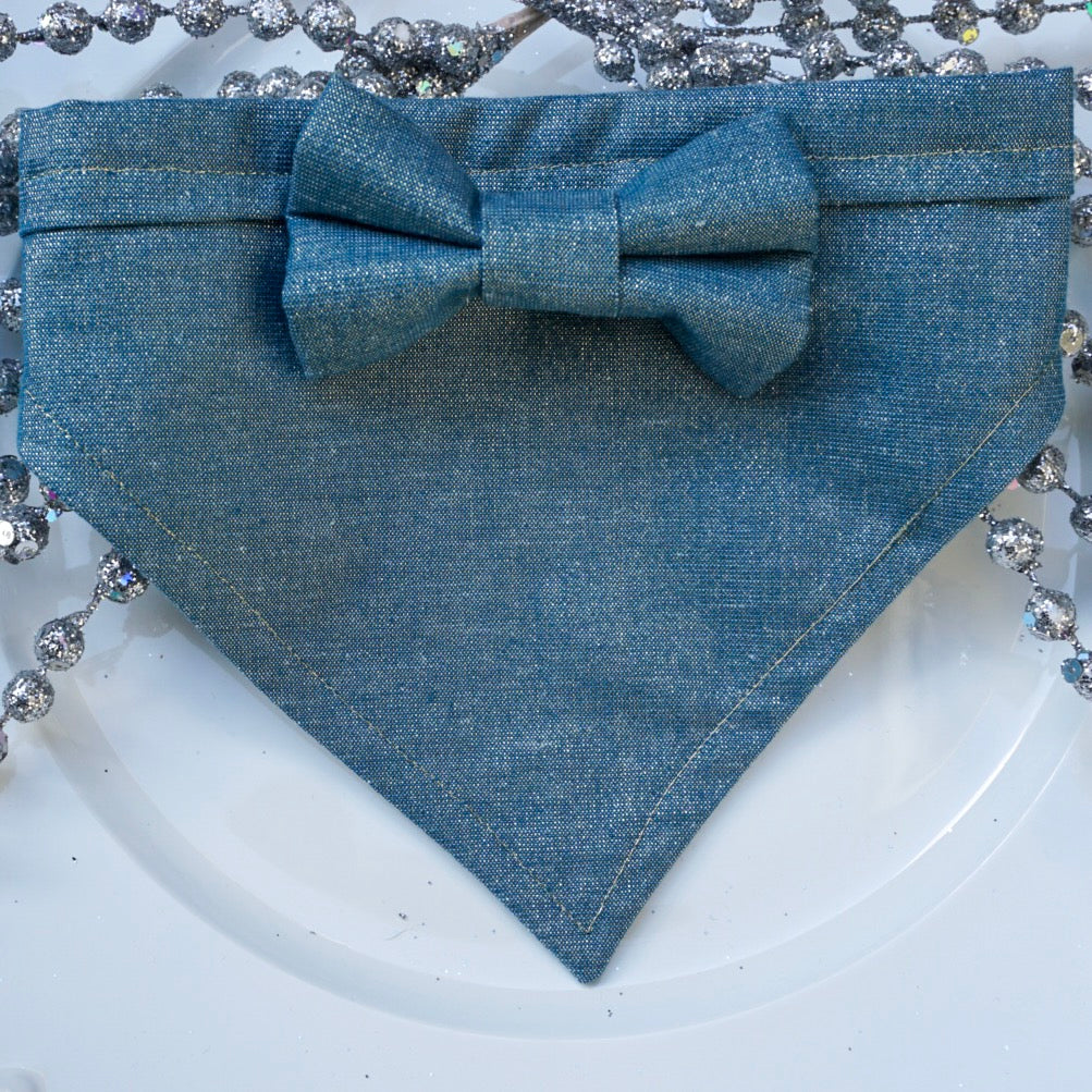 Moon Dust // Troy Bow Tie & Belle Bandana Duo