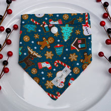 Load image into Gallery viewer, Christmas Cookies // Reversible Bandana