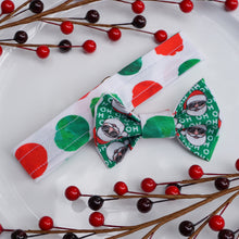 Load image into Gallery viewer, Santa Dotz // Reversible Bow Tie