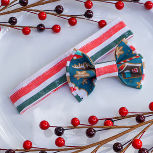 Christmas Cookies // Reversible Bow Tie