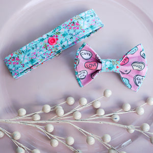 Sweetheart Bouquet // Reversible Bow Tie
